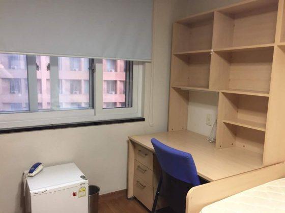 Yonsei: accommodations